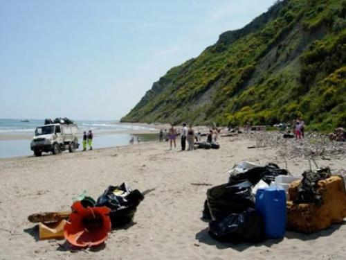 La spiaggia di Focara